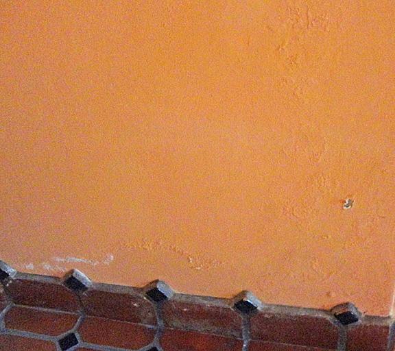 Salitre on wall