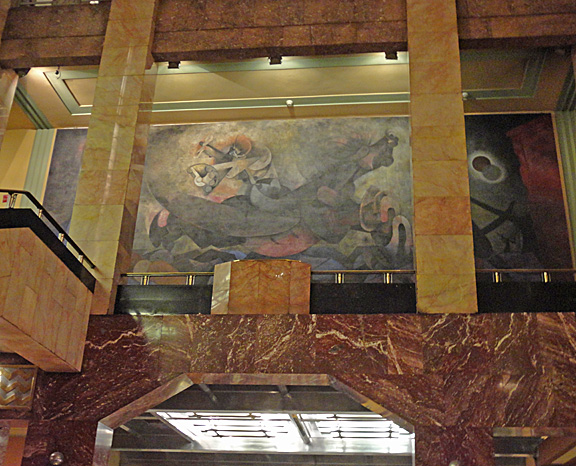 Bellas Artes Rufino Tamayo Mural