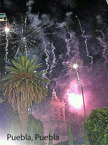 puebla fireworks zocalo