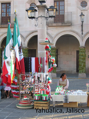 yahualica patriotic souvenir vendor