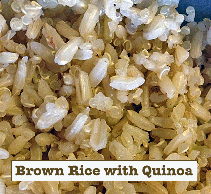 brown rice quinoa