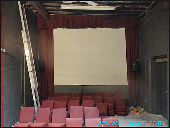 Mazatlan Film & Theater with curtains