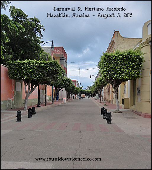 Mazatlan Street Upgrades August 2012