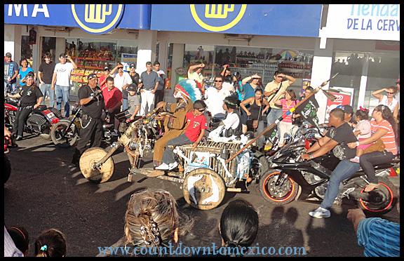 Mazatlan Moto Parade 2012