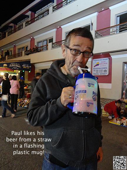 Beer Mug Carnival 2012 Mazatlan