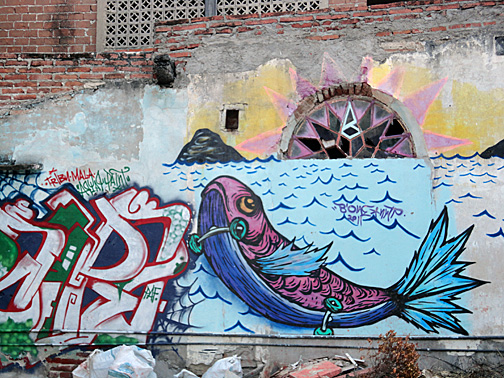 Graffiti in Mazatlan Sinaloa