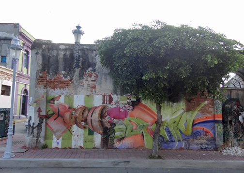 Graffiti in Mazatlan Sinaloa